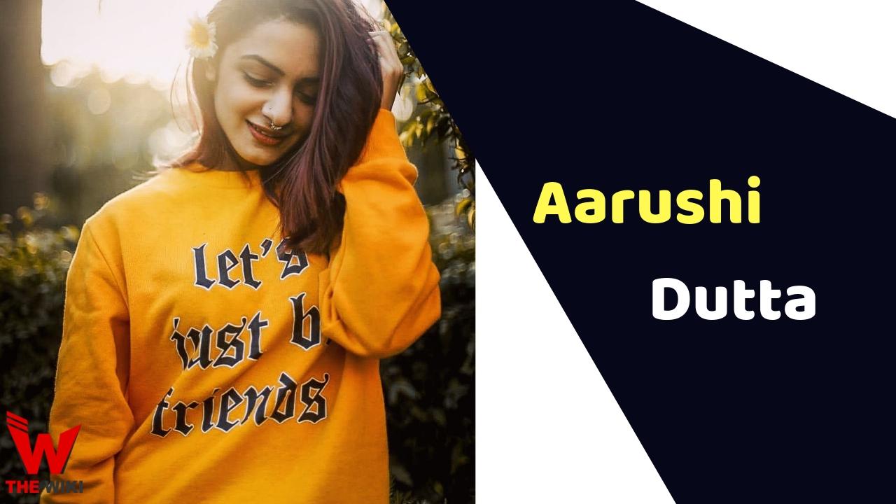 Aarushi Dutta