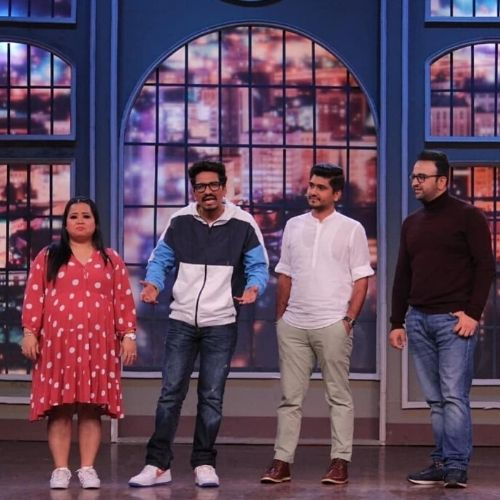 Bharati and Haarsh on Khatra Khatra Khatra