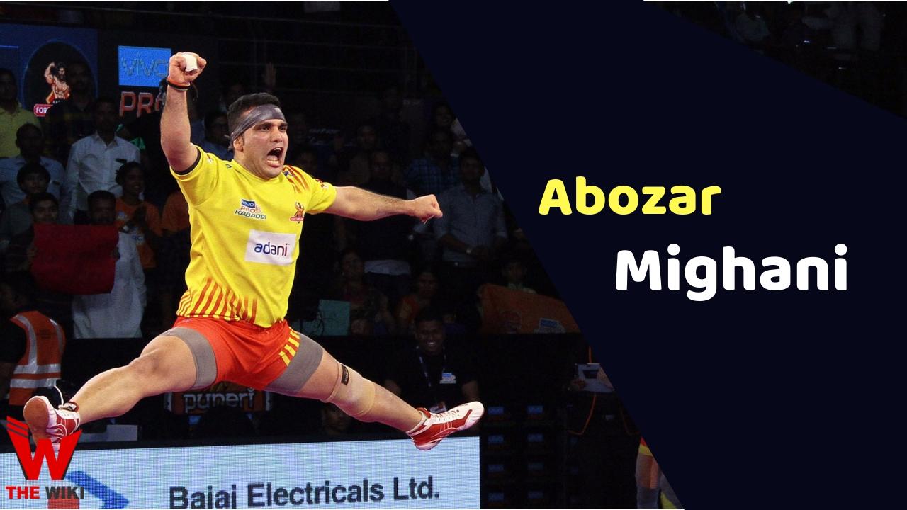Abozar Mighani (Kabaddi Player)
