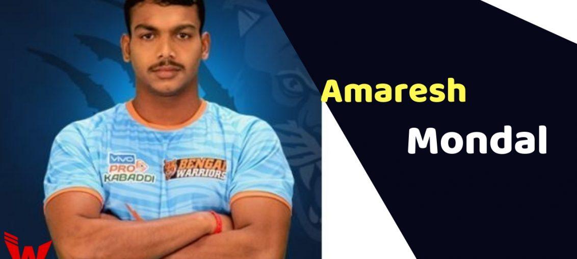 Amaresh Mondal (Kabaddi Player)