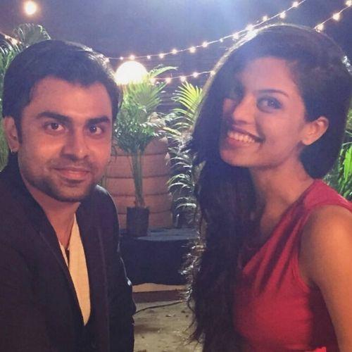 Jitendra Kumar and Akansha Thakur