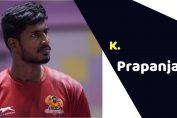 K. Prapanjan (Kabaddi Player)