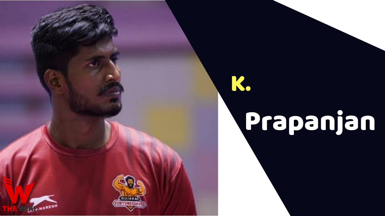 K. Prapanjan (Kabaddi Player)