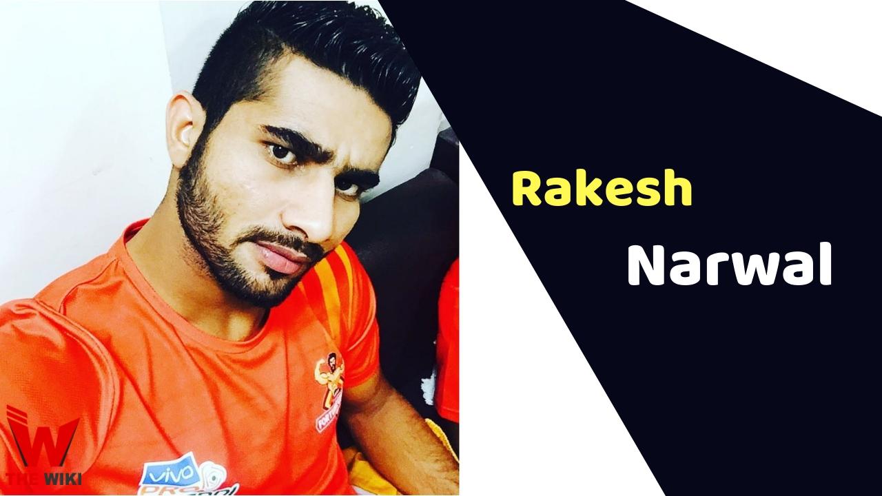 Rakesh Narwal (Kabaddi Player)