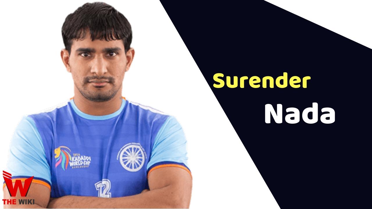 Surender Nada (Kabaddi Player)