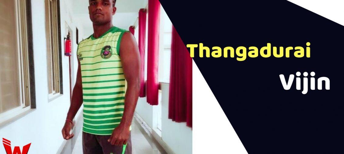 Vijin Thangadurai (Kabaddi Player)