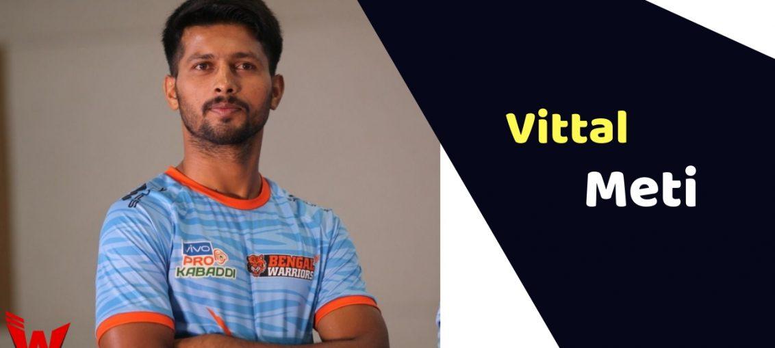 Vittal Meti (Kabaddi Player)