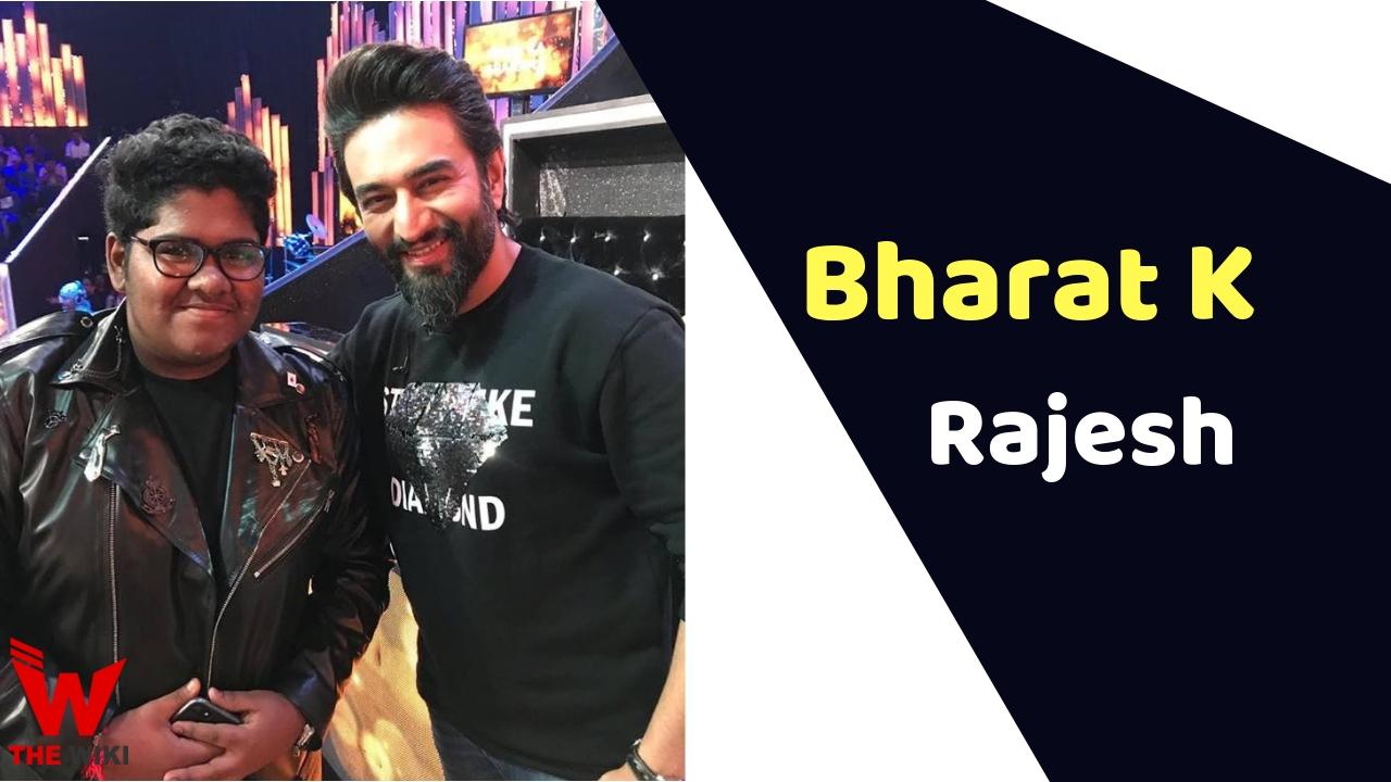 Bharat K Rajesh (Sa Re Ga Ma Pa)
