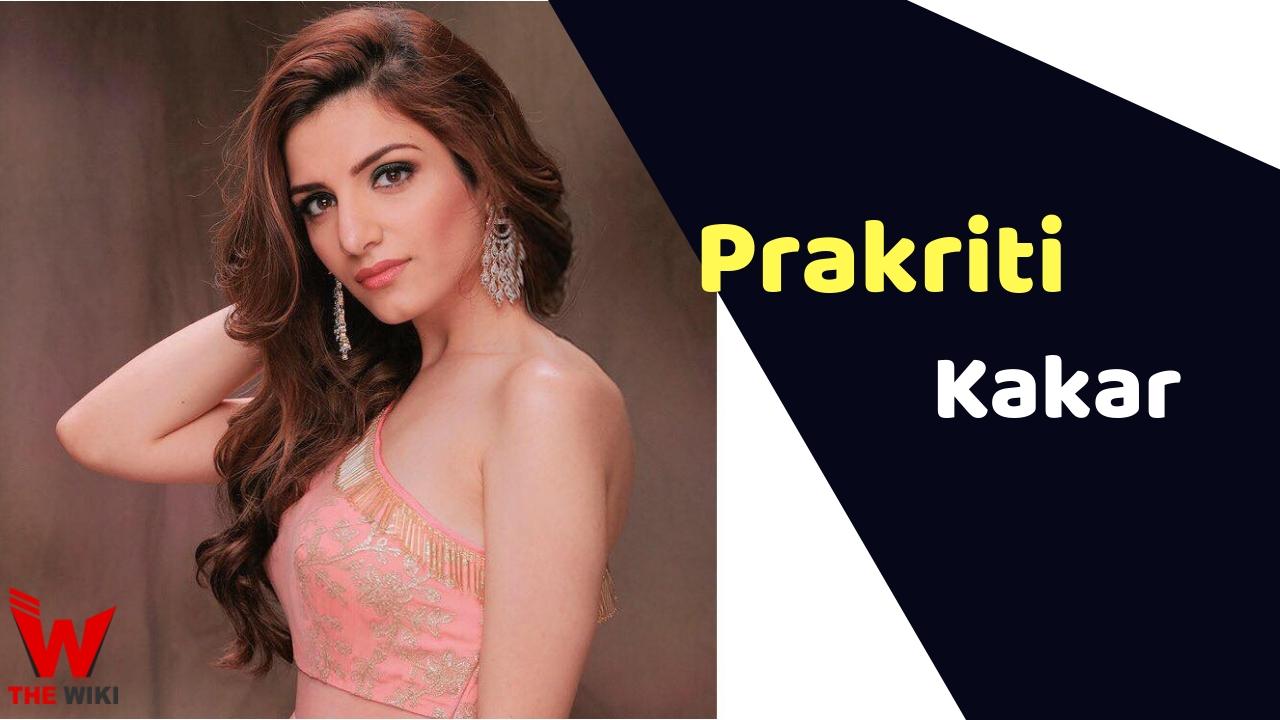 Prakriti Kakar (Singer)