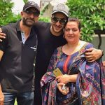 Ali Goni with Parents