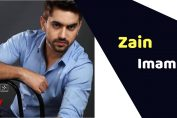 Zain Imam (Actor)