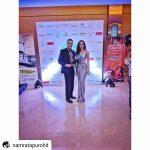Namrata Purohit with asiaSpa India Award