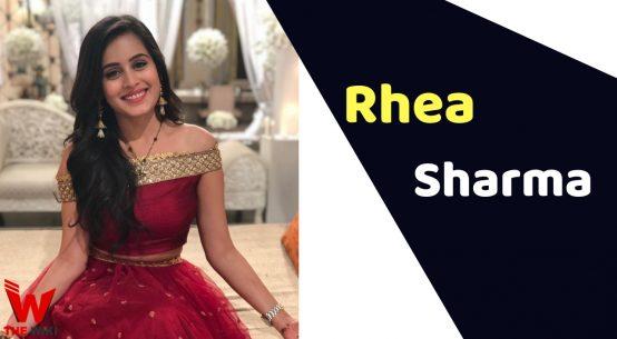 Rhea Sharma (TV Actress)
