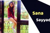 Sana Sayyad (TV Actress)
