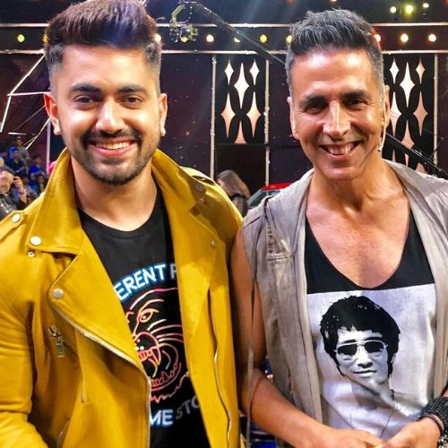 Akshay Kumar and Zain Imam