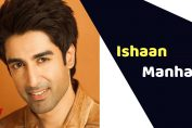 Ishaan Singh Manhas (TV Actor)