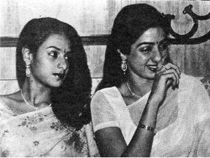 Rajeswari Yanger's two daughter sridevi and srilatha