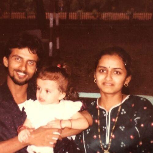 Shrenu Parikh Family Picture
