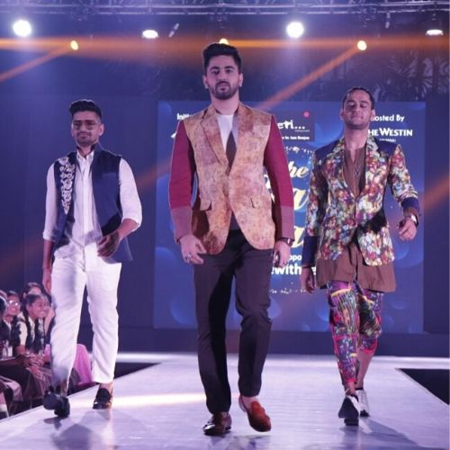 Zain During ramp walk