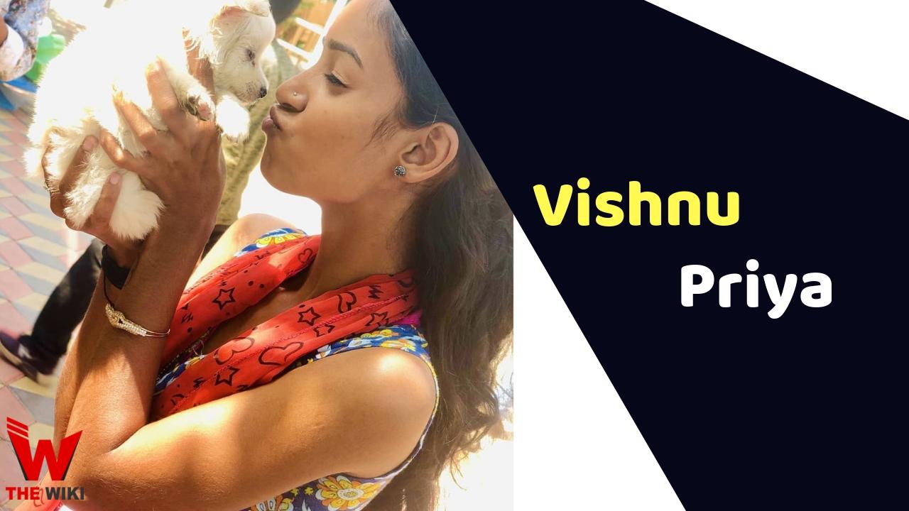 Vishnu Priya (Tik-Tok Star)