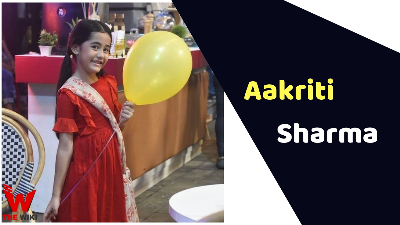 Aakriti Sharma (Child Artist)