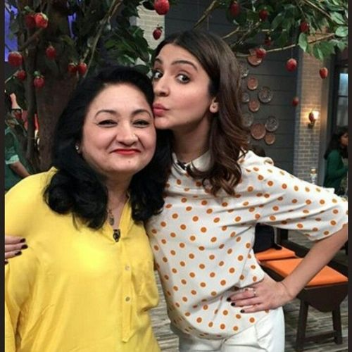 Anushka Sharma with Ashima Sharma
