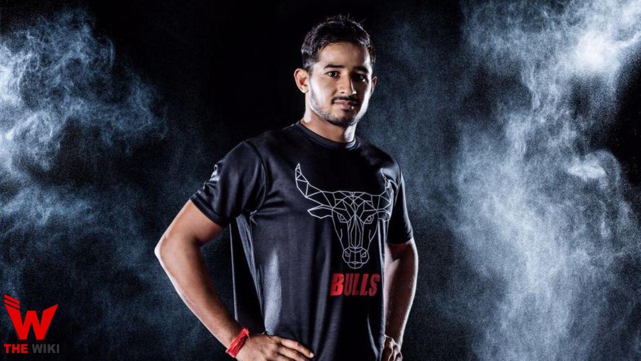 Ashish Sangwan Kabaddi Player
