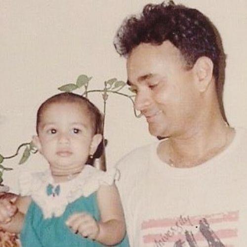 Nityaami Shirke childhood Picture