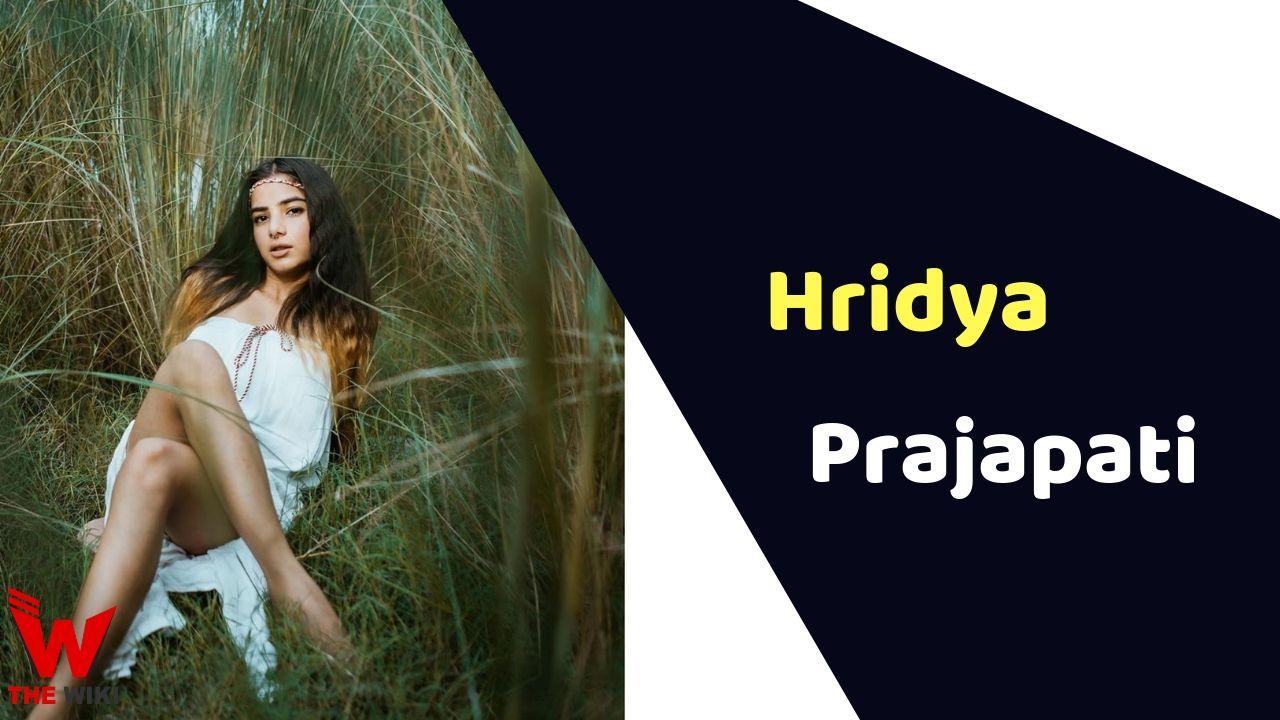 Hridya Prajapati (MTV Splitsvilla)