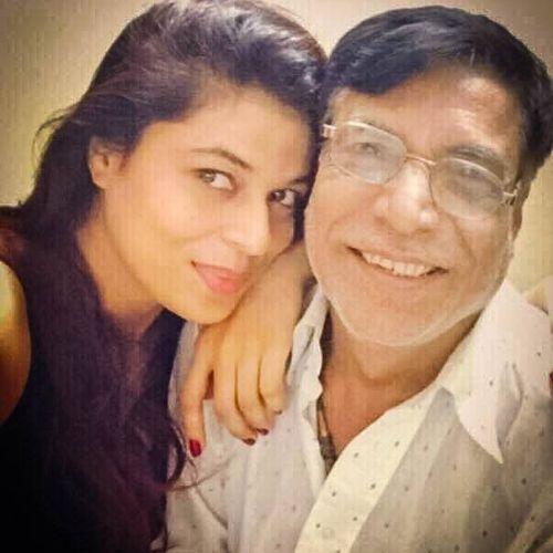 Sheeva Rana (Actress) with Father