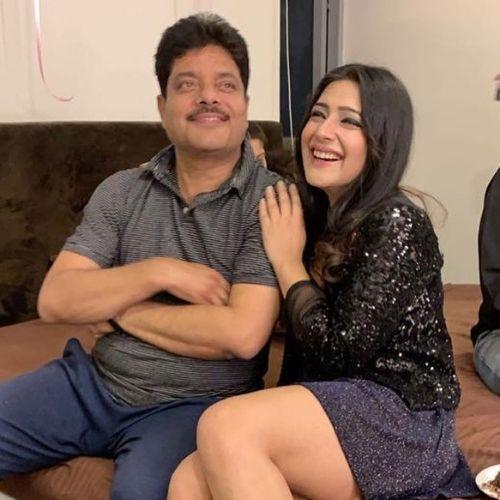 Shiny Dixit (Actress) Father