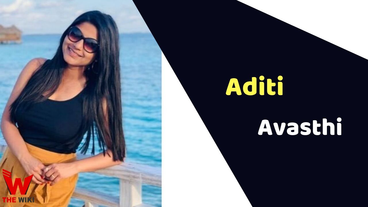 Aditi Avasthi (News Anchor)