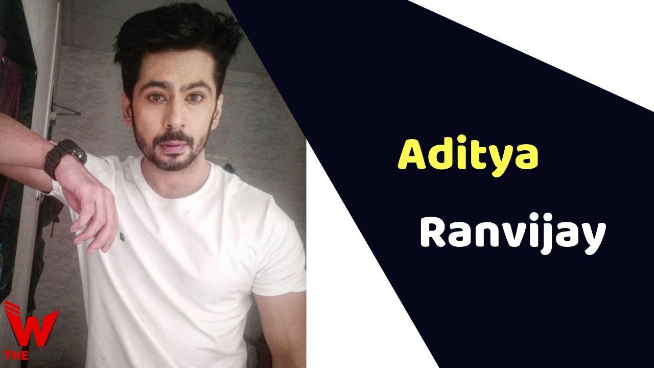Aditya Ranvijay (Actor)