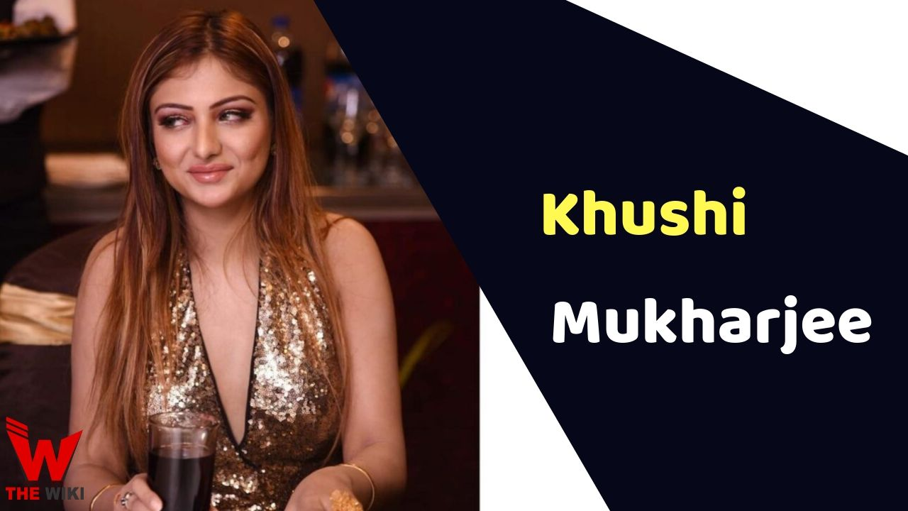 Khushi Mukharjee (Actress)