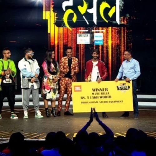 M Zee Bella with price money of MTV Hustle
