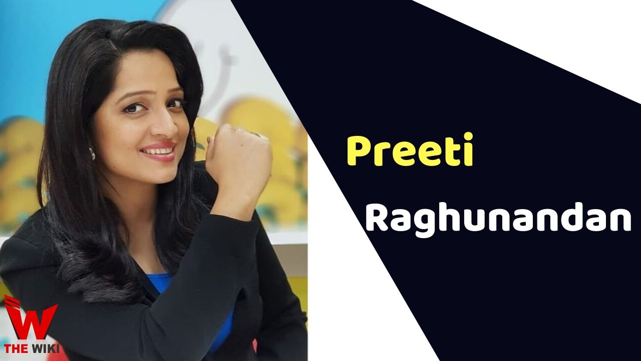 Preeti Raghunandan (News Anchor)