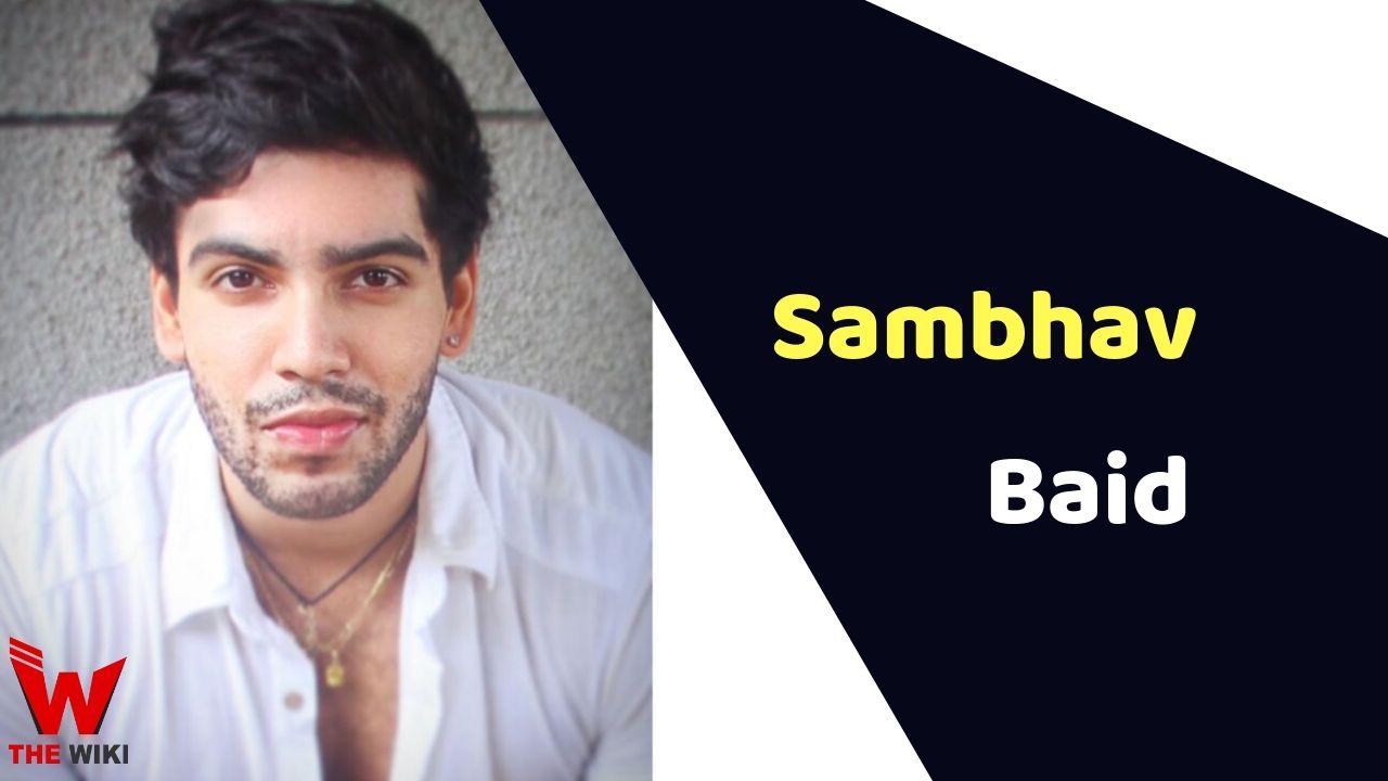 Sambhav Baid (MTV Splitsvilla)