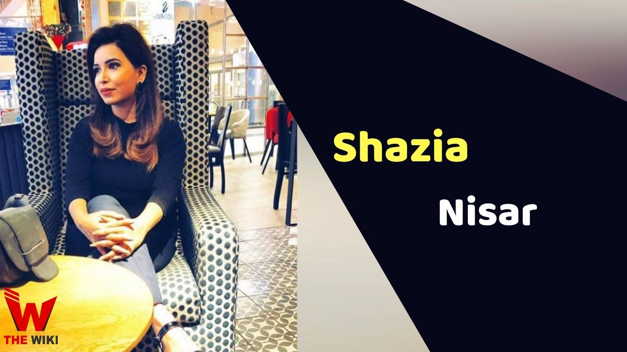 Shazia Nisar (News Anchor)