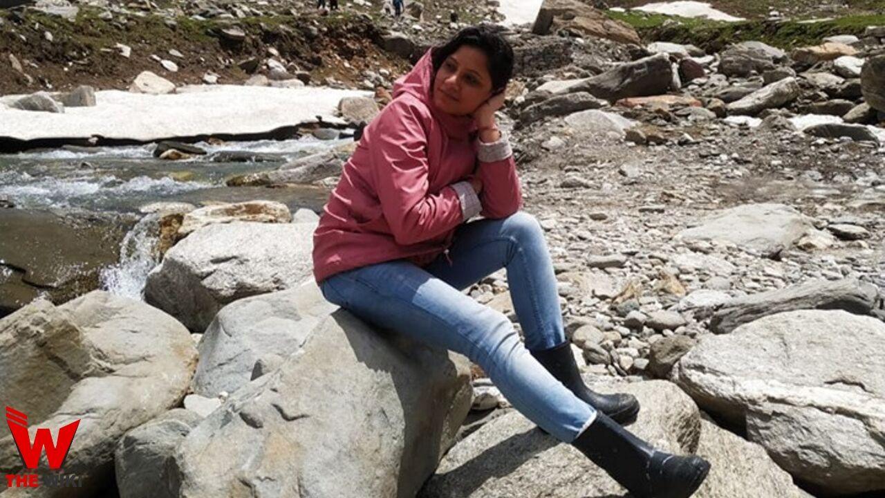 Sweta Srivastava (News Anchor)