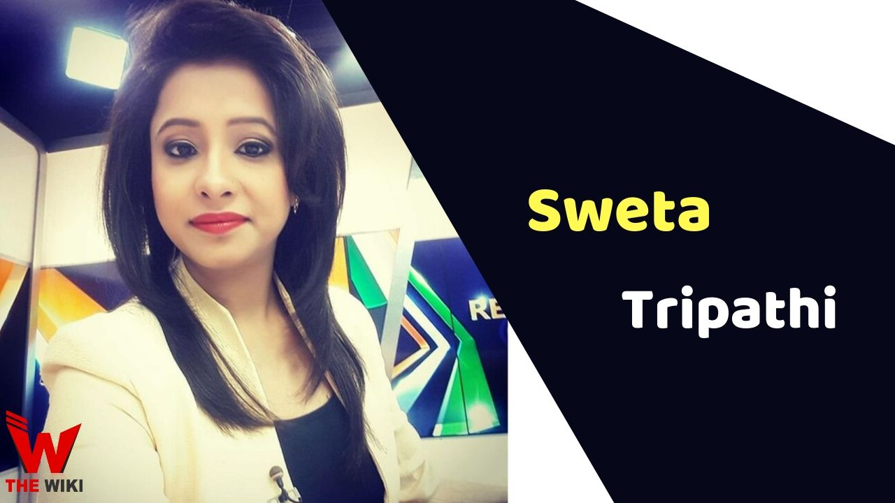 Sweta Tripathi (News Anchor)