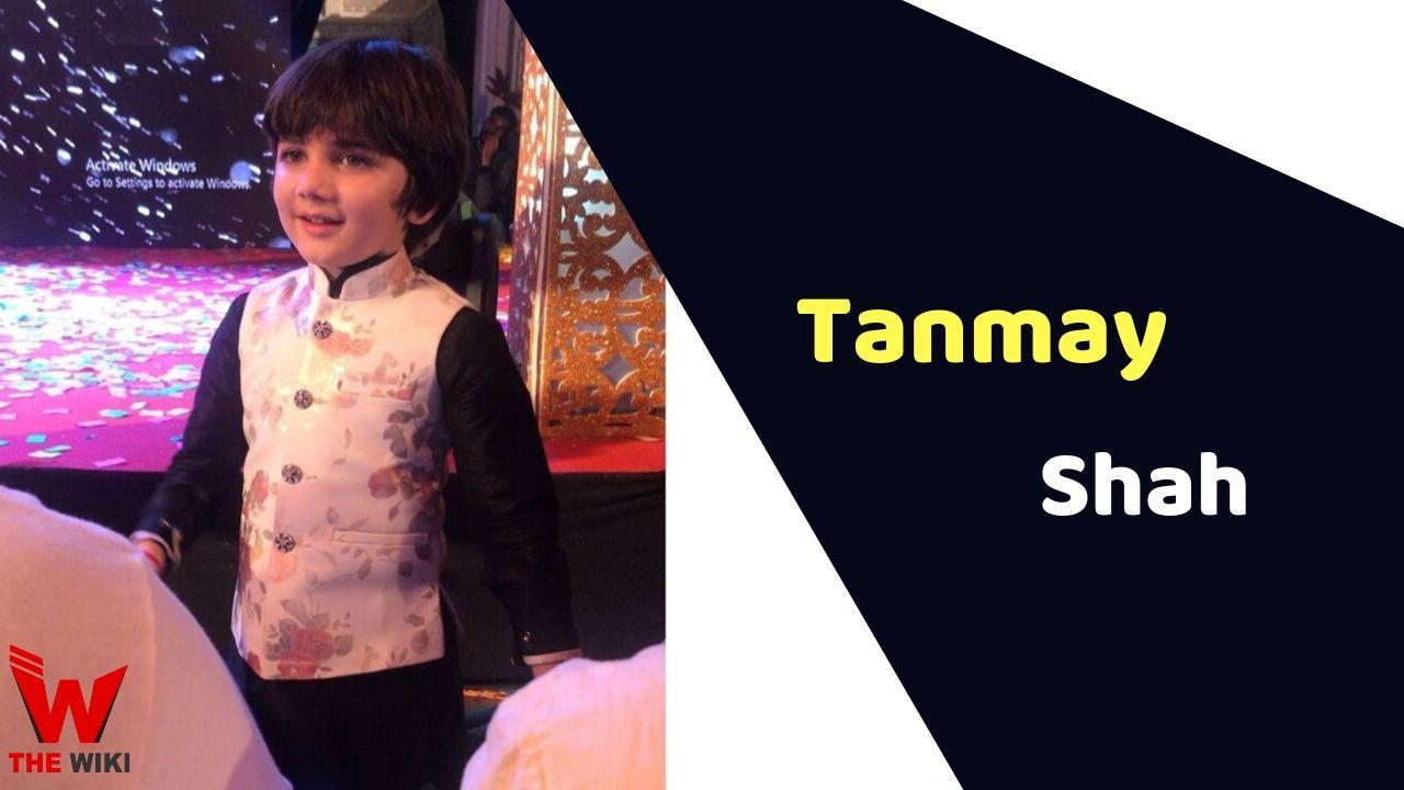 Tanmay Shah Child Actor