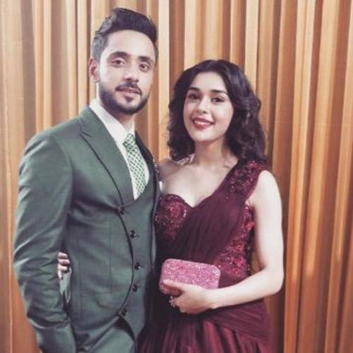Adnan with Eisha Singh