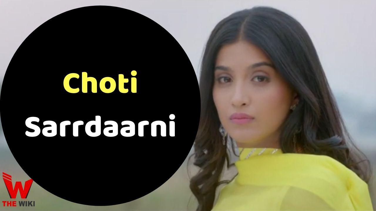 Choti Sarrdaarni (Colors TV)