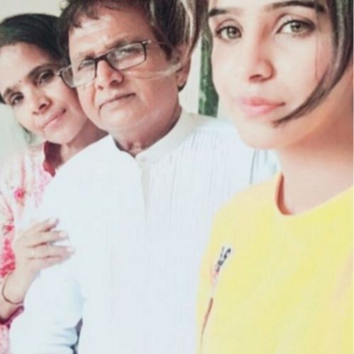 Fenil Umrigar with father