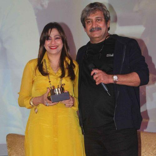 Mahesh and Medha Manjrekar