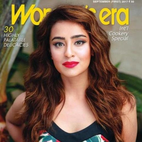 Musskan on the cover of woman era