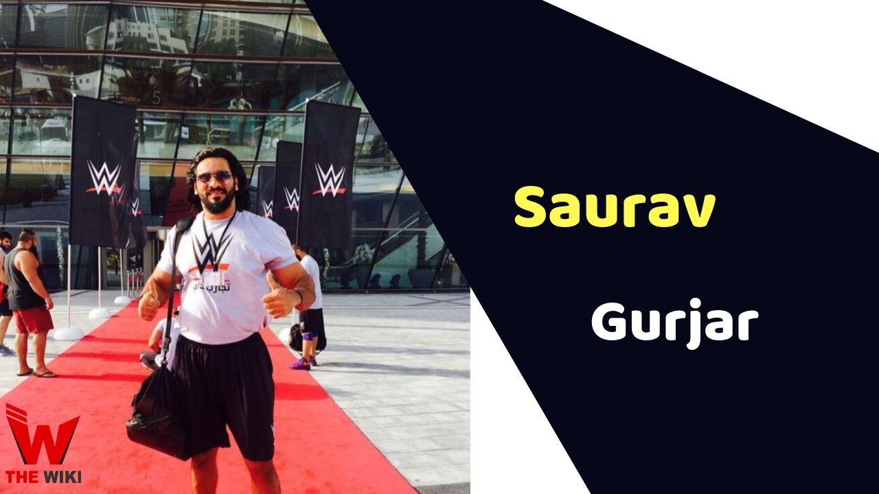 Saurav Gurjar (WWE wrestler)