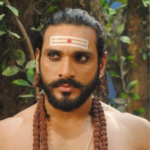 Saurav Gurjar as Ravana in Mahabali Hanuman