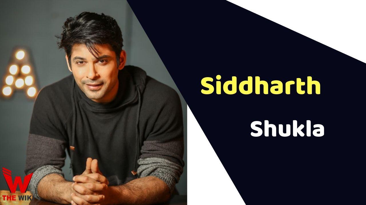 Siddharth Shukla (Actor)