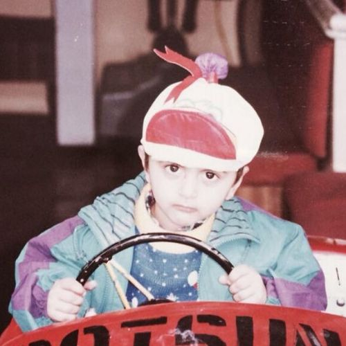 Suhail Nayyar childhood picture